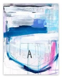 Moondrop Dreams (Abstract painting)