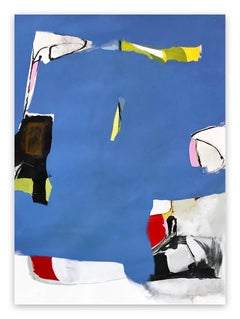 Bluets #1 (Abstract painting)