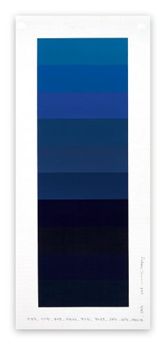 Emotional color chart 098 (Abstract painting)