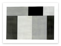 Test Pattern 6 (Grey study) (Abstract painting)