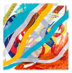 Jazz Cubano #20: Arturo and Elio, Thinking Out Loud (Abstract painting)