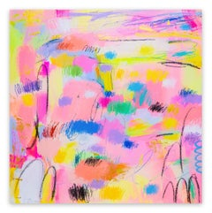 Farewell to Spring (Abstract painting)