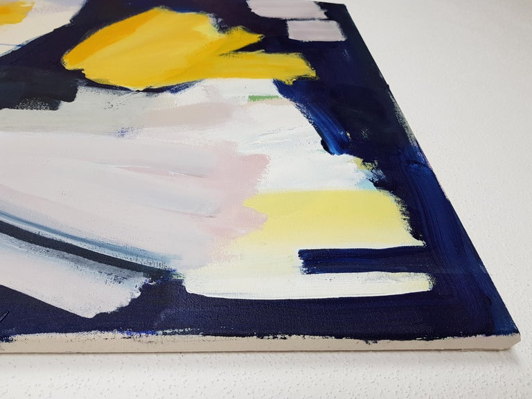 Sunny night (Abstract painting) For Sale 2