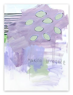 Making Lemonade (Abstract painting)