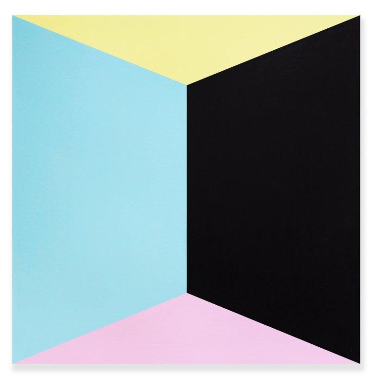 Brent Hallard Abstract Drawing - Box I (Abstract painting)