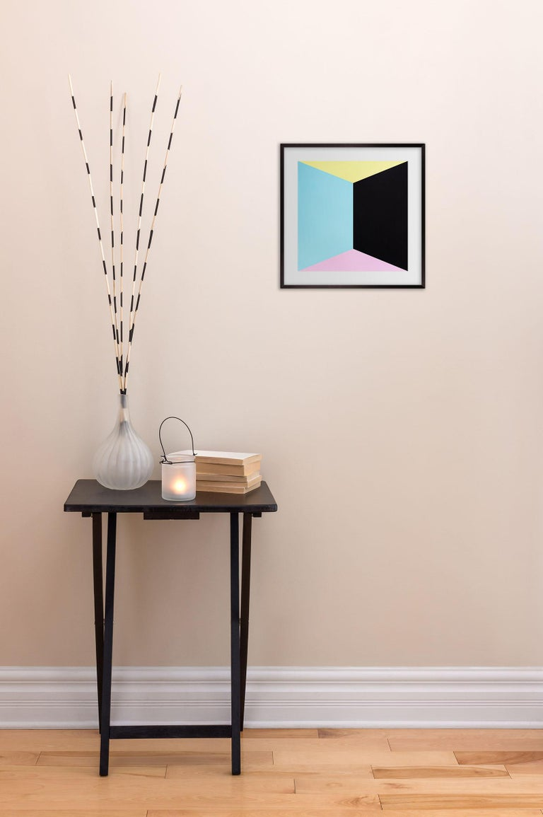 Box I (Abstract painting) - Art by Brent Hallard