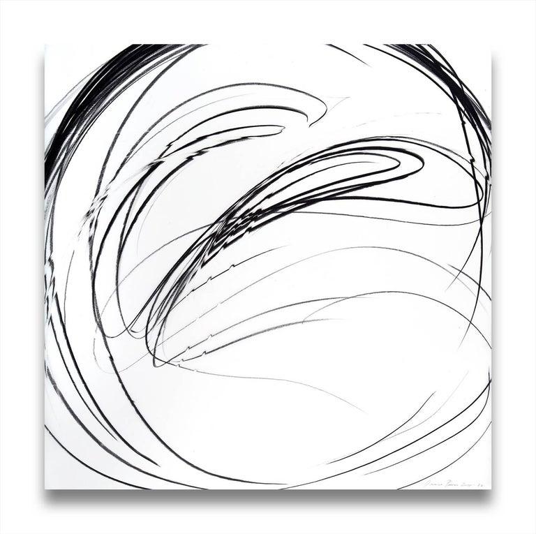 Jaanika Peerna Abstract Drawing - Maelstrom Series 77 (Abstract drawing)