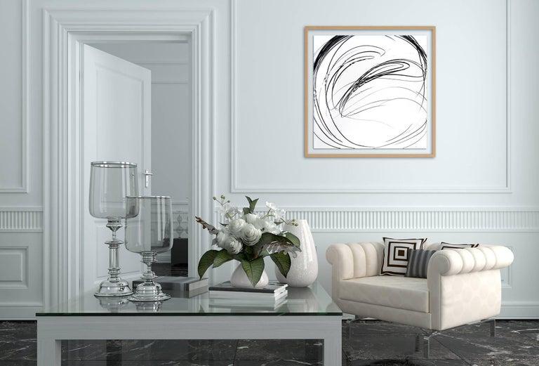 Maelstrom Series 77 (Abstract drawing) - Art by Jaanika Peerna