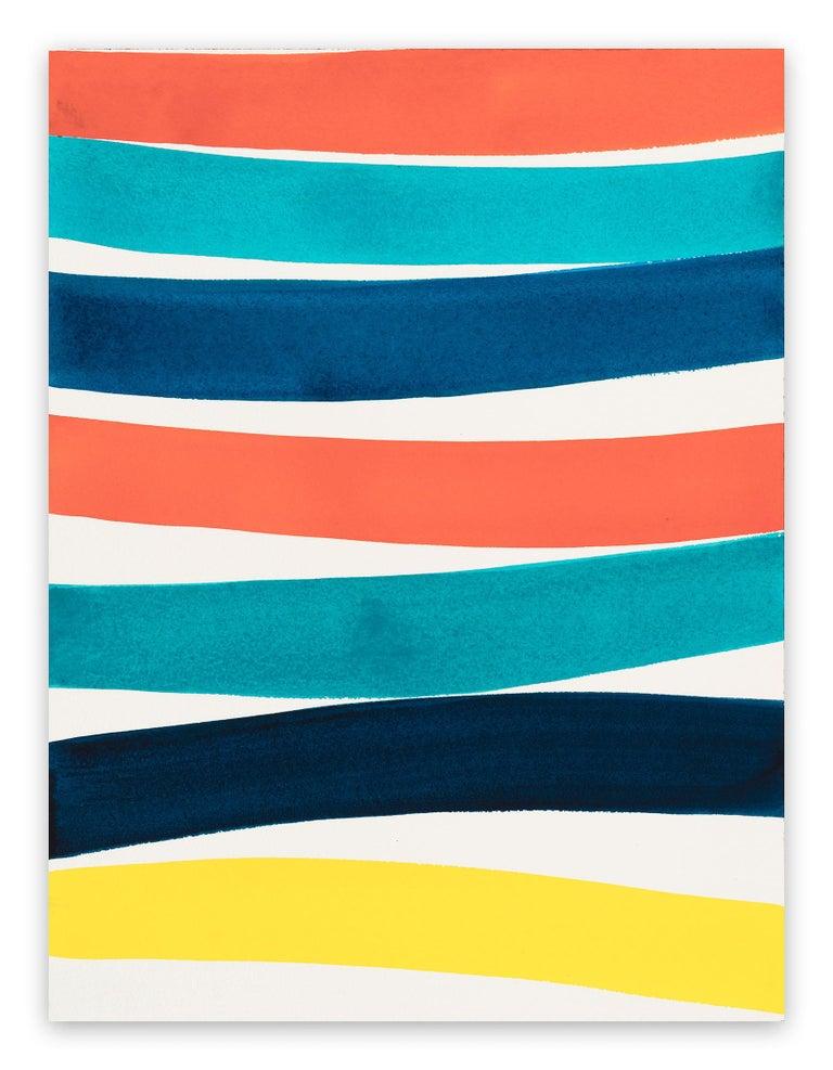 Kim Uchiyama Abstract Painting - Rest (Abstract drawing)