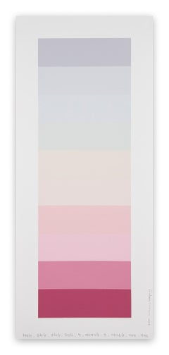 Emotional Color Chart 136 (Abstract Painting)