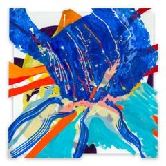 Jazz Cubano #22: Arturo and Elio, Thinking Out Loud (Abstract painting)