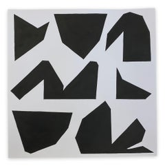 Cut-Up Paper 2002 (Abstract painting)