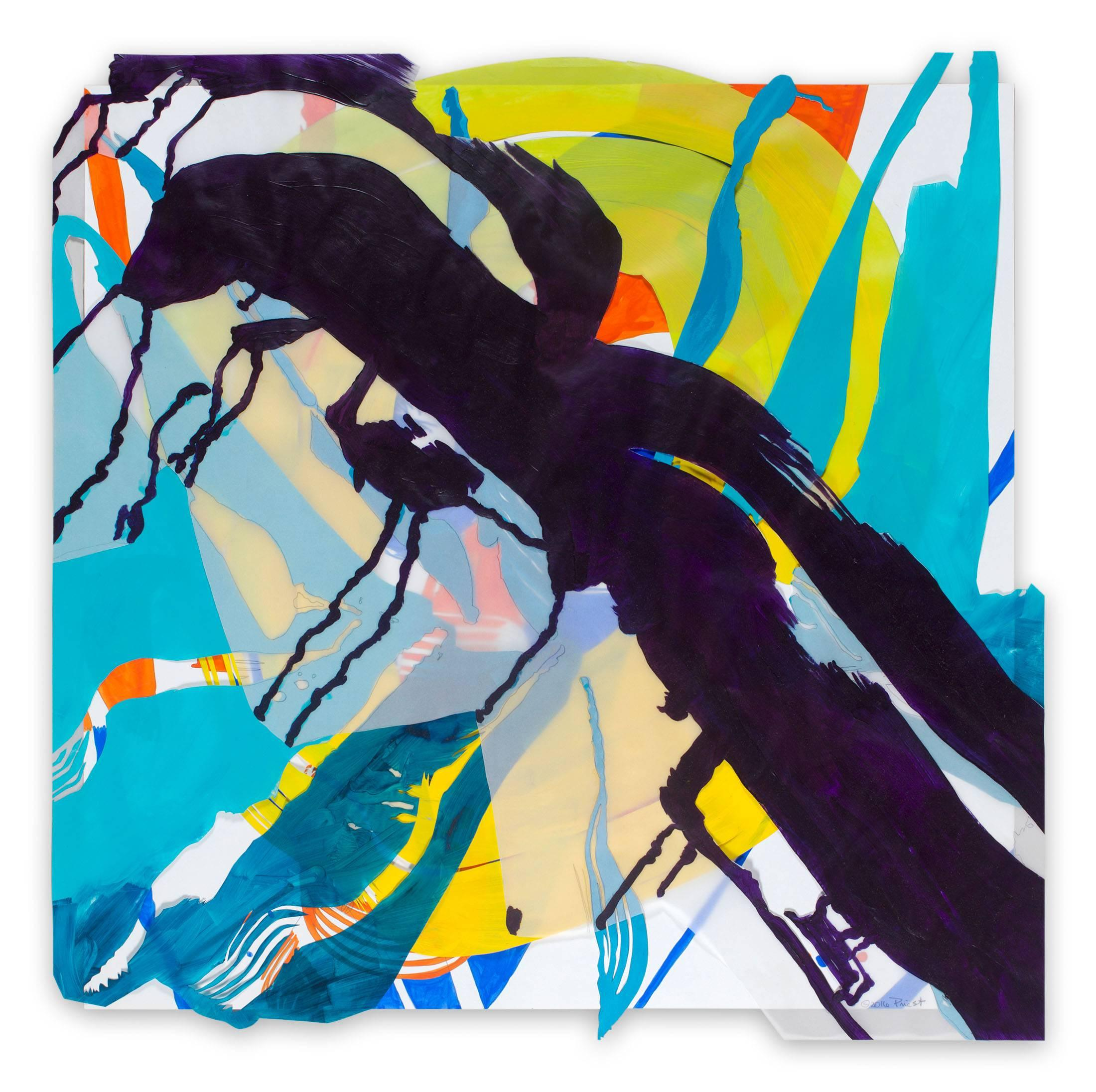 Jazz Cubano #27: Arturo and Elio, Thinking Out Loud (Abstract painting)