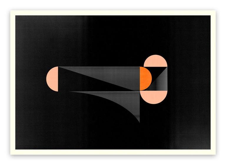 Jesús Perea Abstract Print - M288 (Abstract new media)