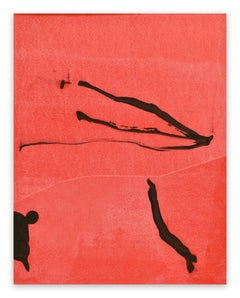 Frankly Scarlet 49 (Abstract painting)