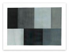 Test Pattern 4 (Grey Study) (Abstract Painting)