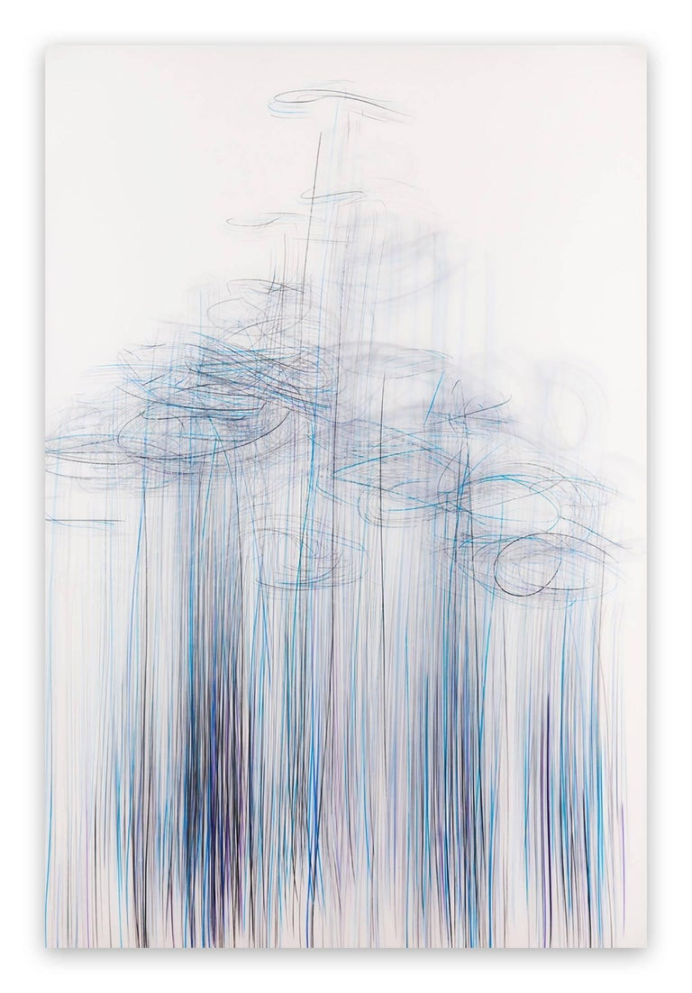 Jaanika Peerna Abstract Drawing - Thaw 3 (Abstract drawing)