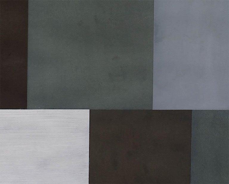 Test Pattern 5 (Grey study) - Abstract Art by Tom McGlynn