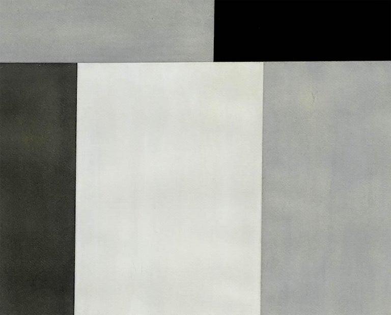 Test Pattern 6 (Grey study) - Abstract Art by Tom McGlynn