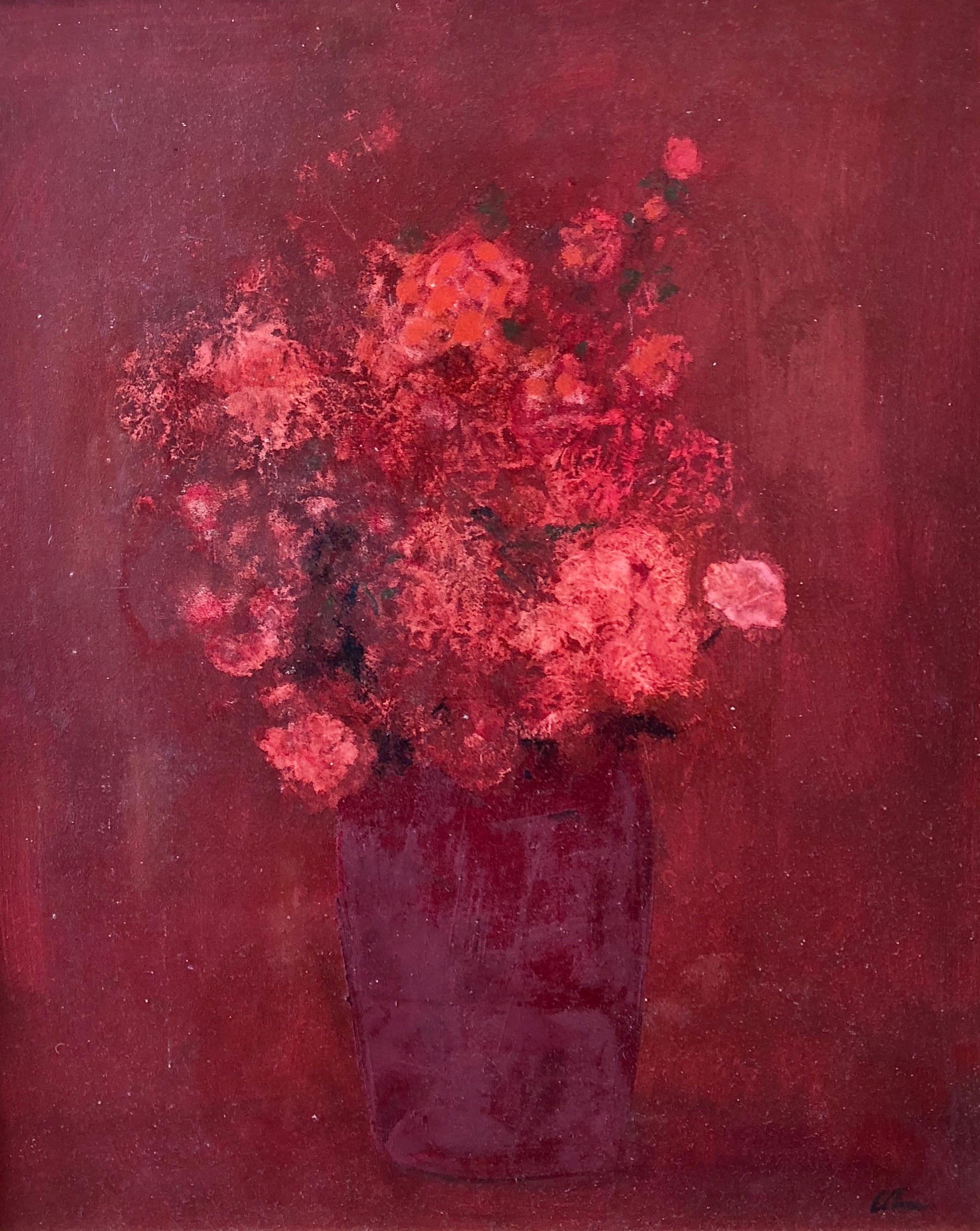 Carnations & Rose Buds
