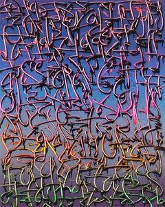 """Exploration 21"" -- graffiti, street art, urban, spray painting. calligraphy"