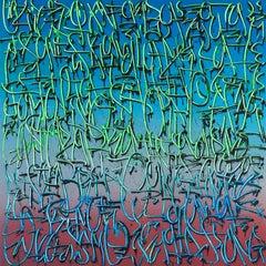 """Exploration 5"" -- graffiti, street art, urban, spray painting. calligraphy"