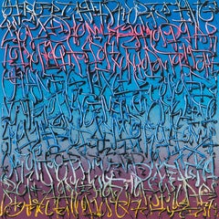 """Exploration 8"" -- graffiti, street art, urban, spray painting. calligraphy"
