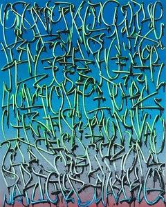 """Exploration 20"" -- graffiti, street art, urban, spray painting. calligraphy"