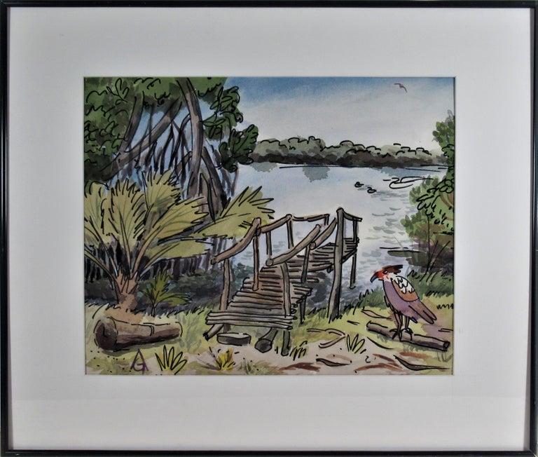 Arnold A. Grossman Landscape Art - Oaxaca Coast