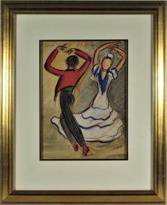 Flamenco Dancers Antonio, Antonio Ruiz Soler and Rosario, Florence Perez Padilla