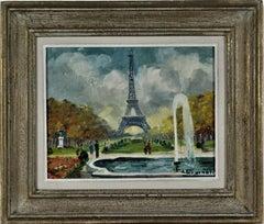 Paris, Le Champs de Mars, La tour Eiffel