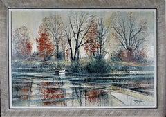 Autumn River Bank