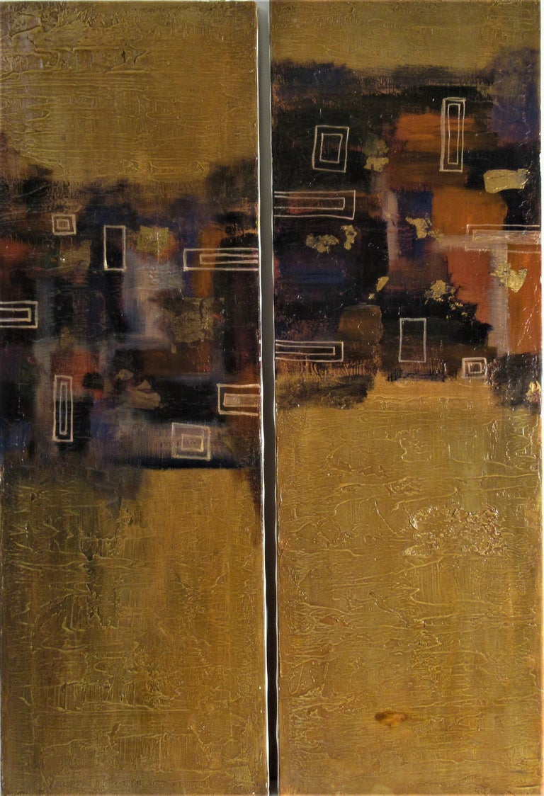 Niky J. Sands Abstract Painting - Tao