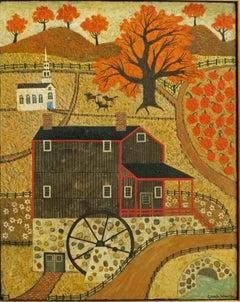 Wight Grist Mill, Old Sturbridge Village