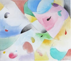 Lyric Abstract Watercolor