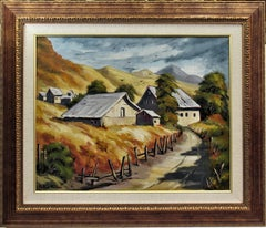 Landscape with Farm, California