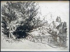 L'eglise de Villeneuve sur Bellot, Seine-et-Marn