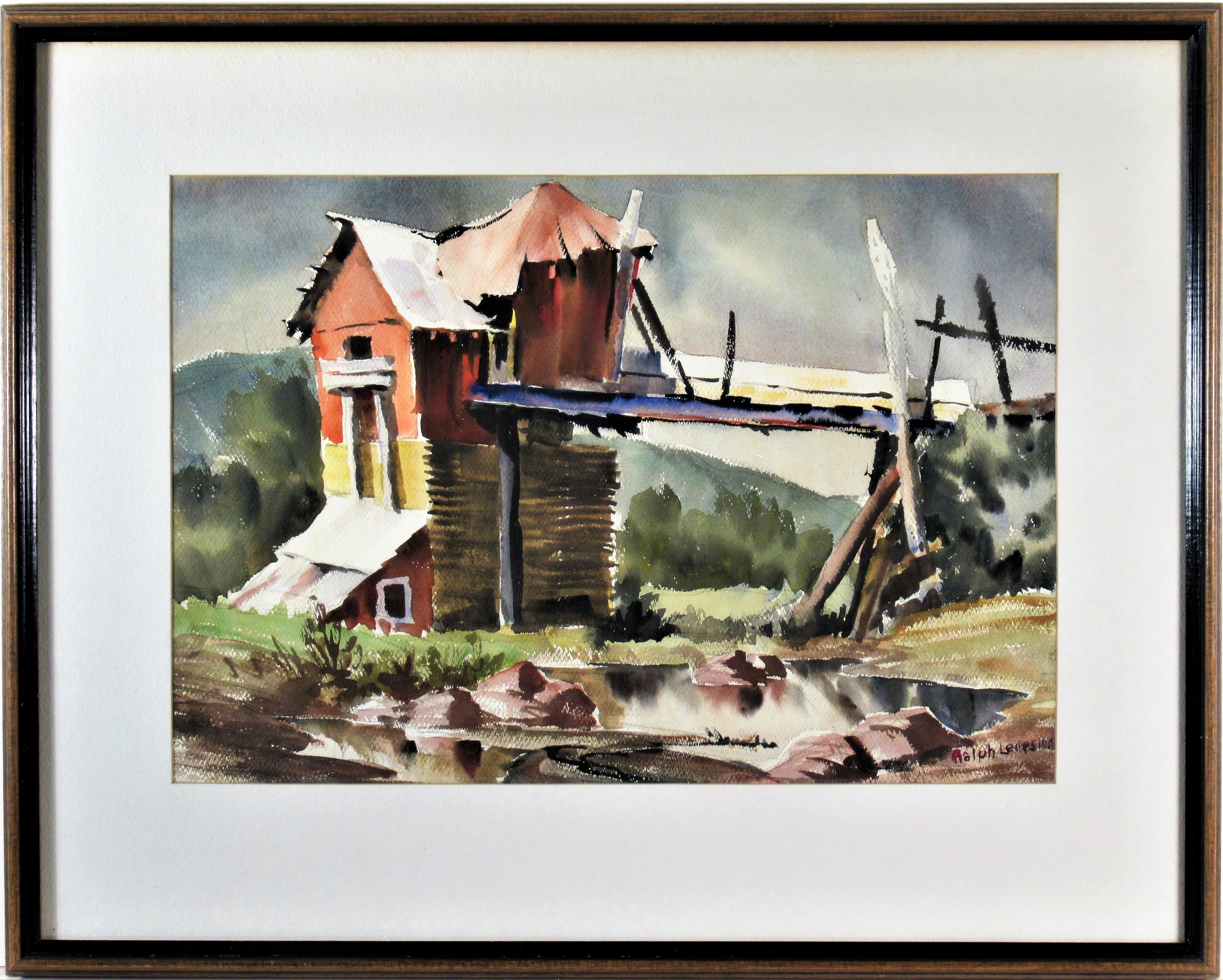 Landscape with House, California