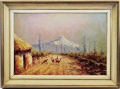 Landscape with Llamas
