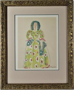 Untitled, Woman in Costume