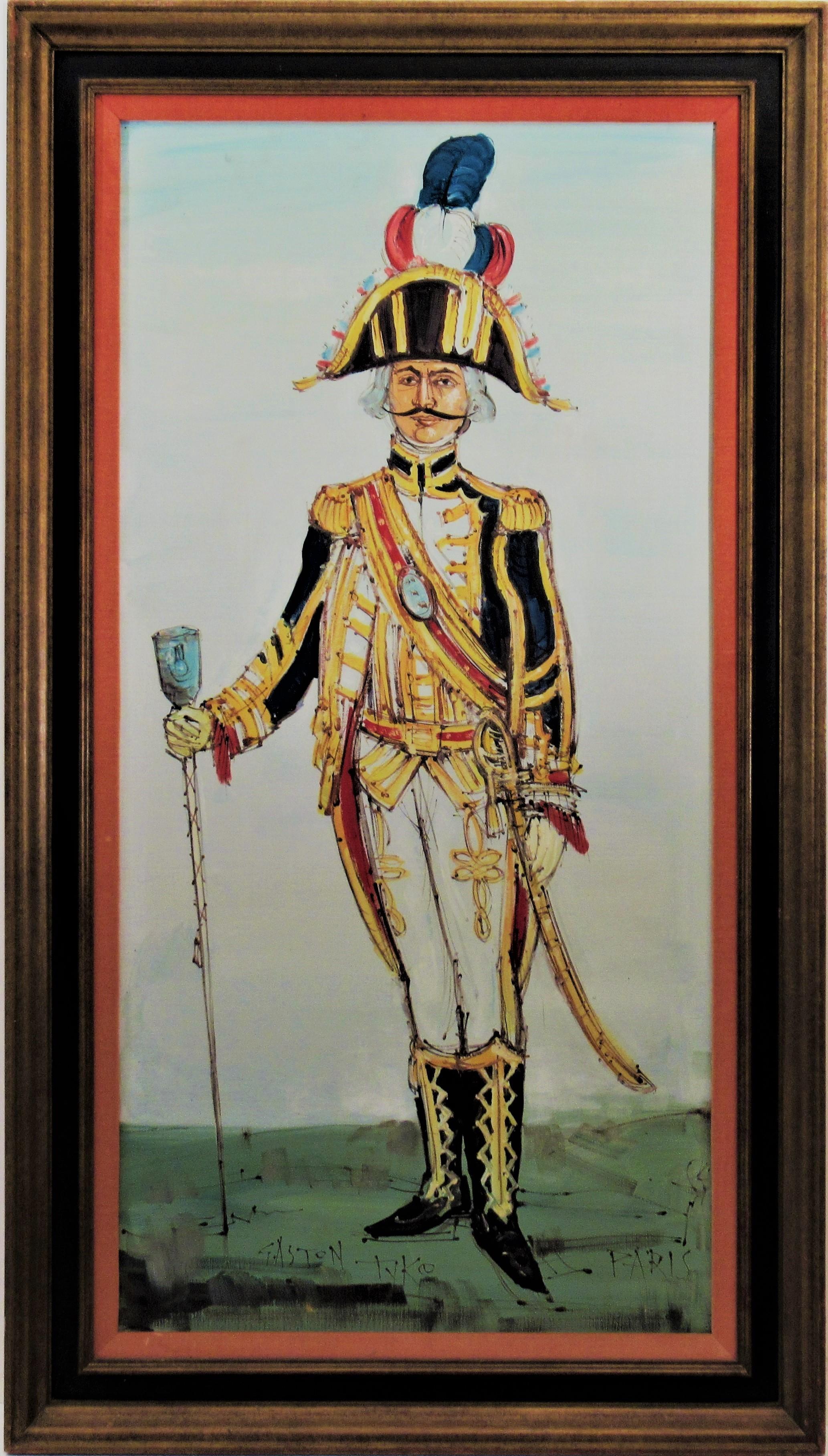 Tambour Major du Premier Empire, Paris.