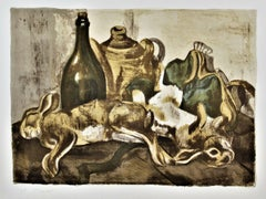 Nature Morte aux Lapins (Still Life with Rabbits)