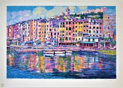 """Porto Venere, Italy"" Large original color serigraph"