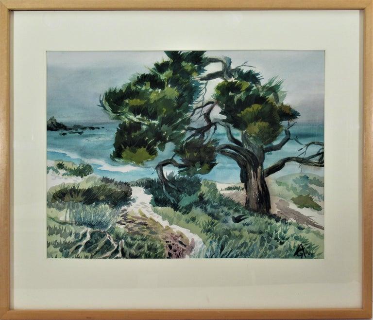 Arnold A. Grossman Landscape Art - Monterey Coast, California