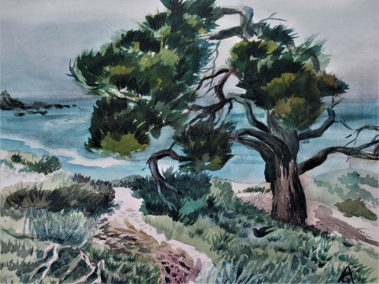 Monterey Coast, California - Art by Arnold A. Grossman