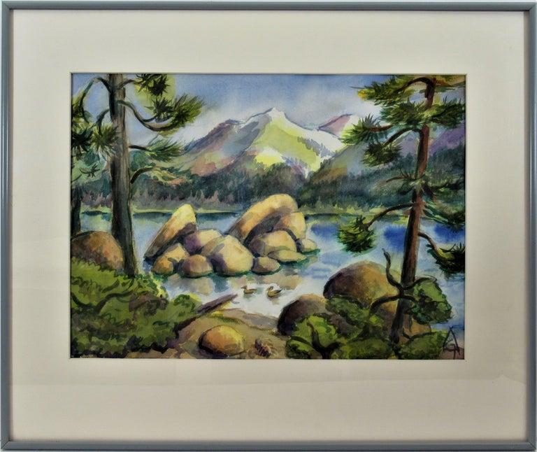 Arnold A. Grossman Landscape Art - California Landscape