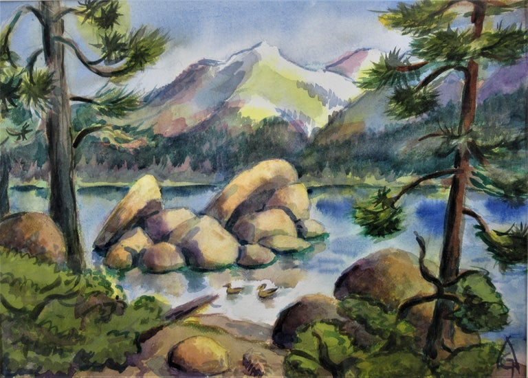 California Landscape - Art by Arnold A. Grossman