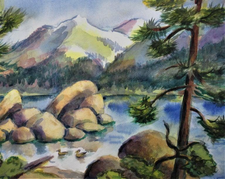 California Landscape - American Impressionist Art by Arnold A. Grossman