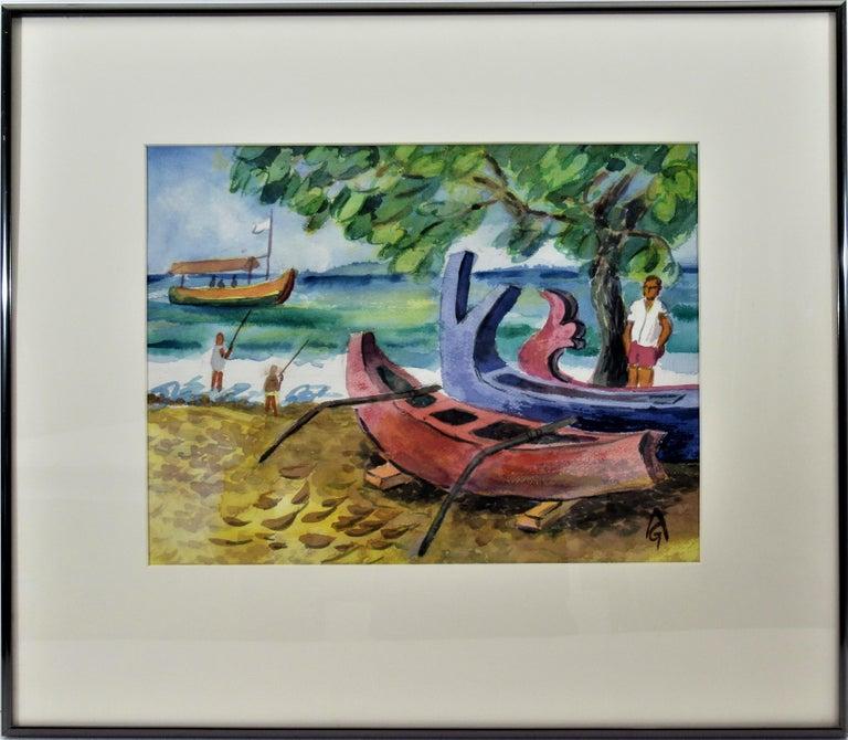 Arnold A. Grossman Landscape Art - Bali Beach