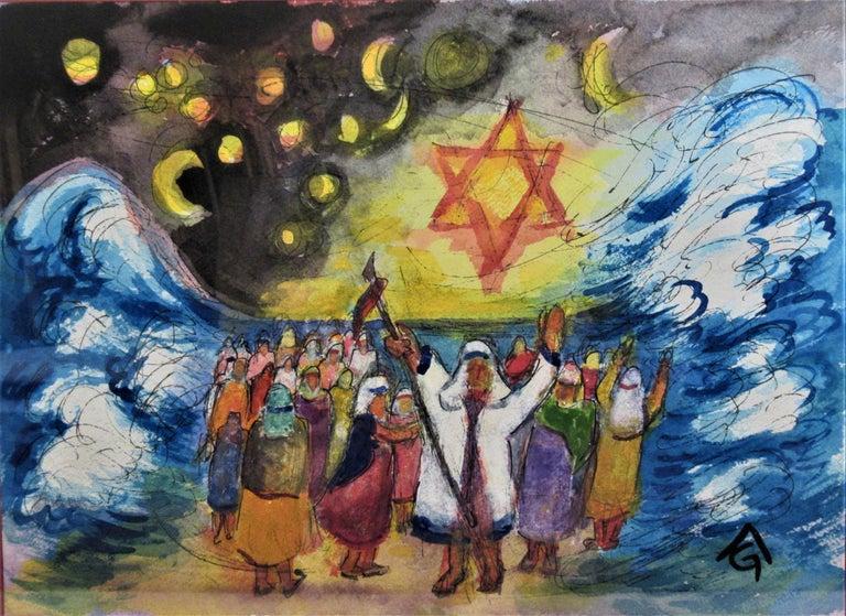 Exodus - Art by Arnold A. Grossman